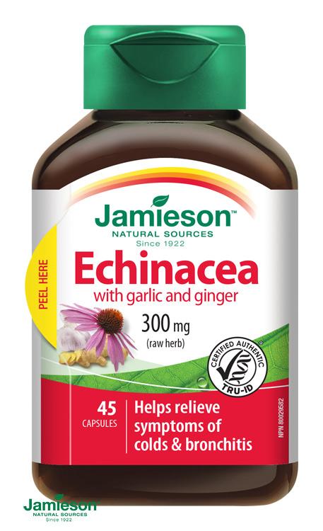 echinacea cesnak zázvor jamieson