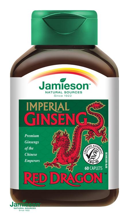 ženšeň, ginseng jamieson