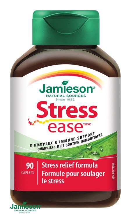vitamín B, bekomplex b-komplex Jamieson, Stress ease, Stressease