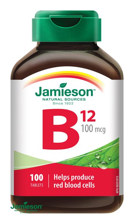 vitamín B12 Jamieson