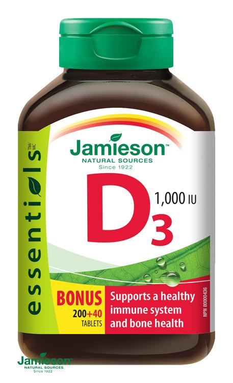 vitamín D3 Jamieson