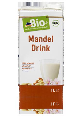 mandle, mandľové mlieko
