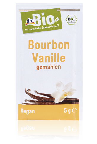 bourbon vanilka, vanilkový cukor