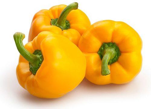vitamín C, kyselina askorbová, žltá paprika