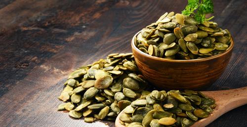 niacín, tekvicové semeno, vitamín B3