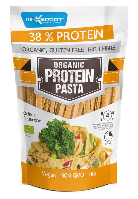 proteínové cestoviny, pasta, quinoa, bielkoviny