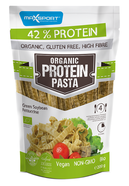 sója, proteínové cestoviny, pasta