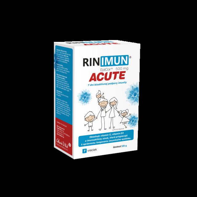 rinimun, imunita, infekcia, chrípka, nachladnutie